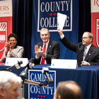 Camden County College and Rutgers–Camden  announce dual admission agreement