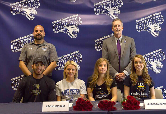 Four CCC Athletes continue at NCAA Level