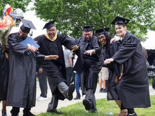 Commence counseling: Addictions program graduates look forward