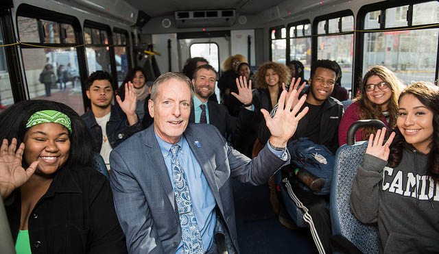 Larger shuttle now serves Camden County College students