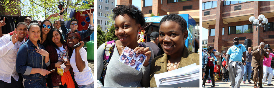 Students from Camden City Campus New Jersey
