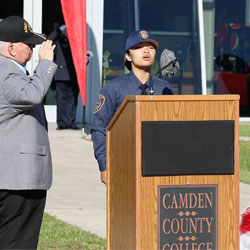 Camden County College remembers 9/11
