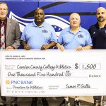 The South Jersey Jazz Basketball Development Group donates to CCC