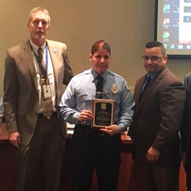 Camden County College Public Safety Officers honored for Saving Lives