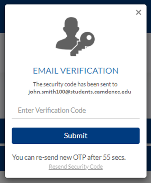 email verification