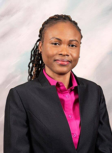 Mavis Amegah-Dorr, Alumna Trustee