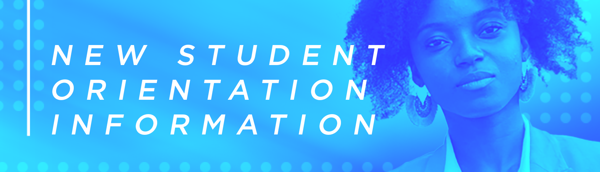 New student orientation information