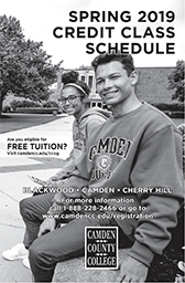 Spring 2019 Credit Schedule of Classes Cover