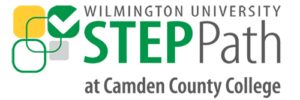 Wilmington University STEP Path at Camden County College logo