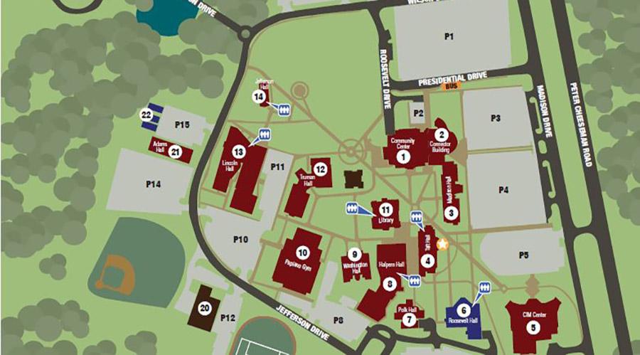 Blackwood Campus Map