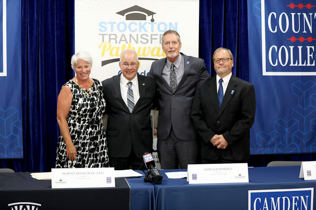 Camden County College and Stockton University Promote Dual Admission Transfer Agreement