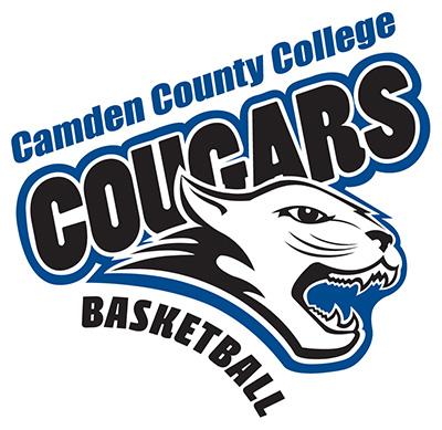 Camden County College Basketball Logo