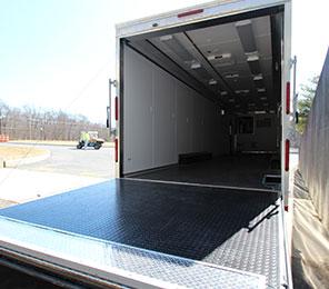 MML inside trailer