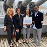Congratulations Joslyn Thompson, recipient of the Battleship New Jersey Scholarship