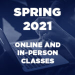 Spring 2021 semester mix of online and in-person classes