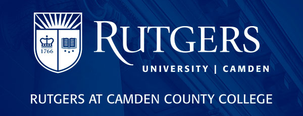 Rutgers at Camden County College logo
