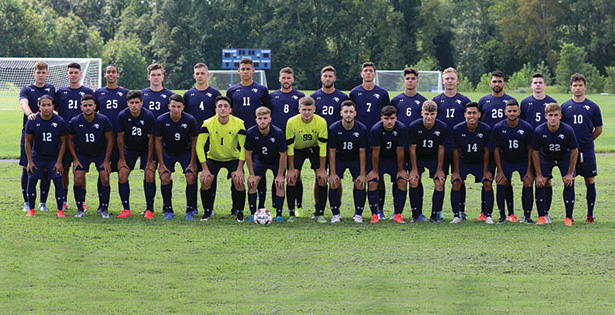 Camden County College soccer team