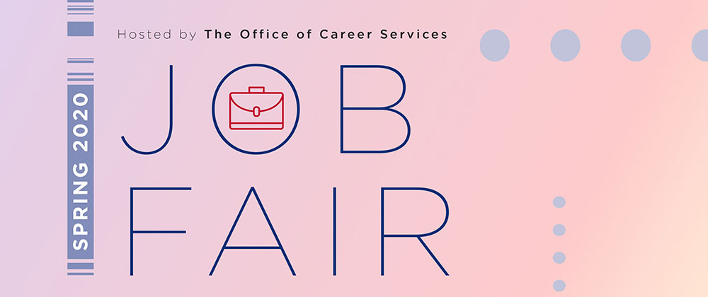 spring 2020 job fair