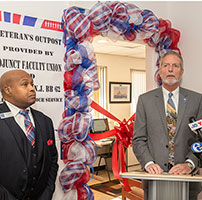 Veteran's Outpost Lounge opens at Camden City Campus